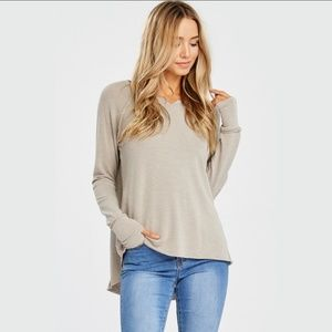 Thumbhole Soft Sweater